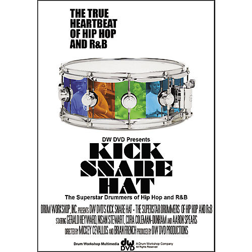 The Drum Channel Kick Snare Hat: The Superstars of Hip-Hop and R&B - 2-DVD Set thumbnail