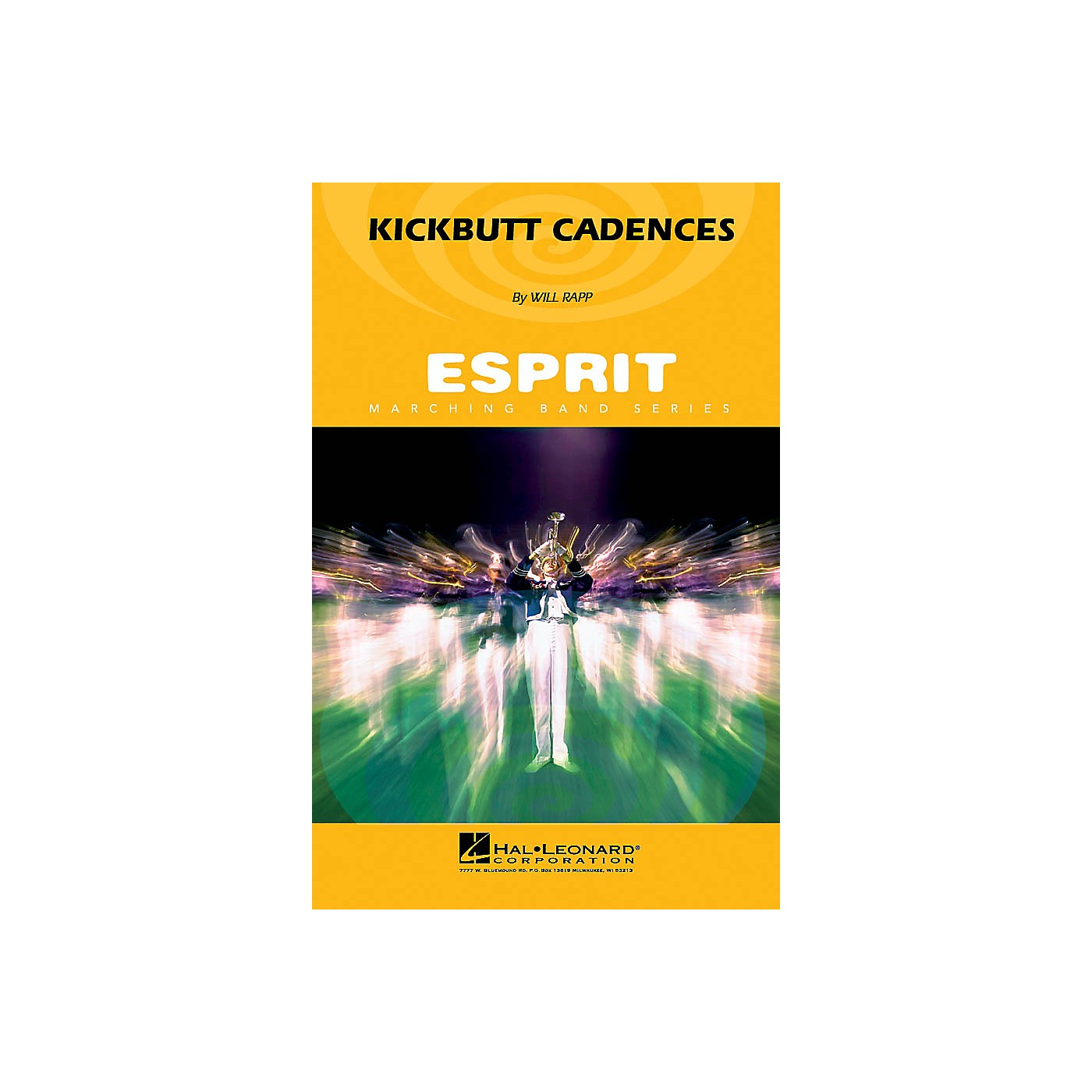 Hal Leonard Kickbutt Cadences Marching Band Level 3 Composed by Will Rapp thumbnail