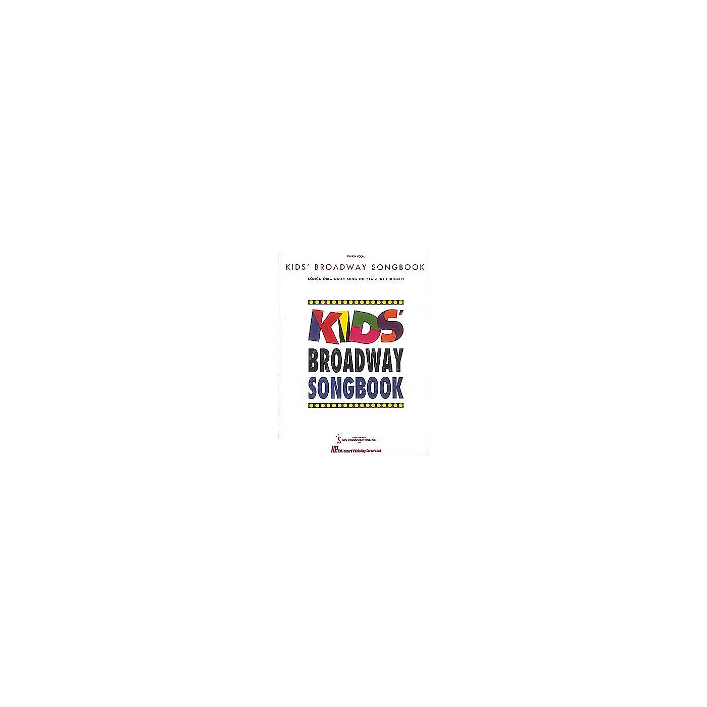 Hal Leonard Kids' Broadway Songbook thumbnail