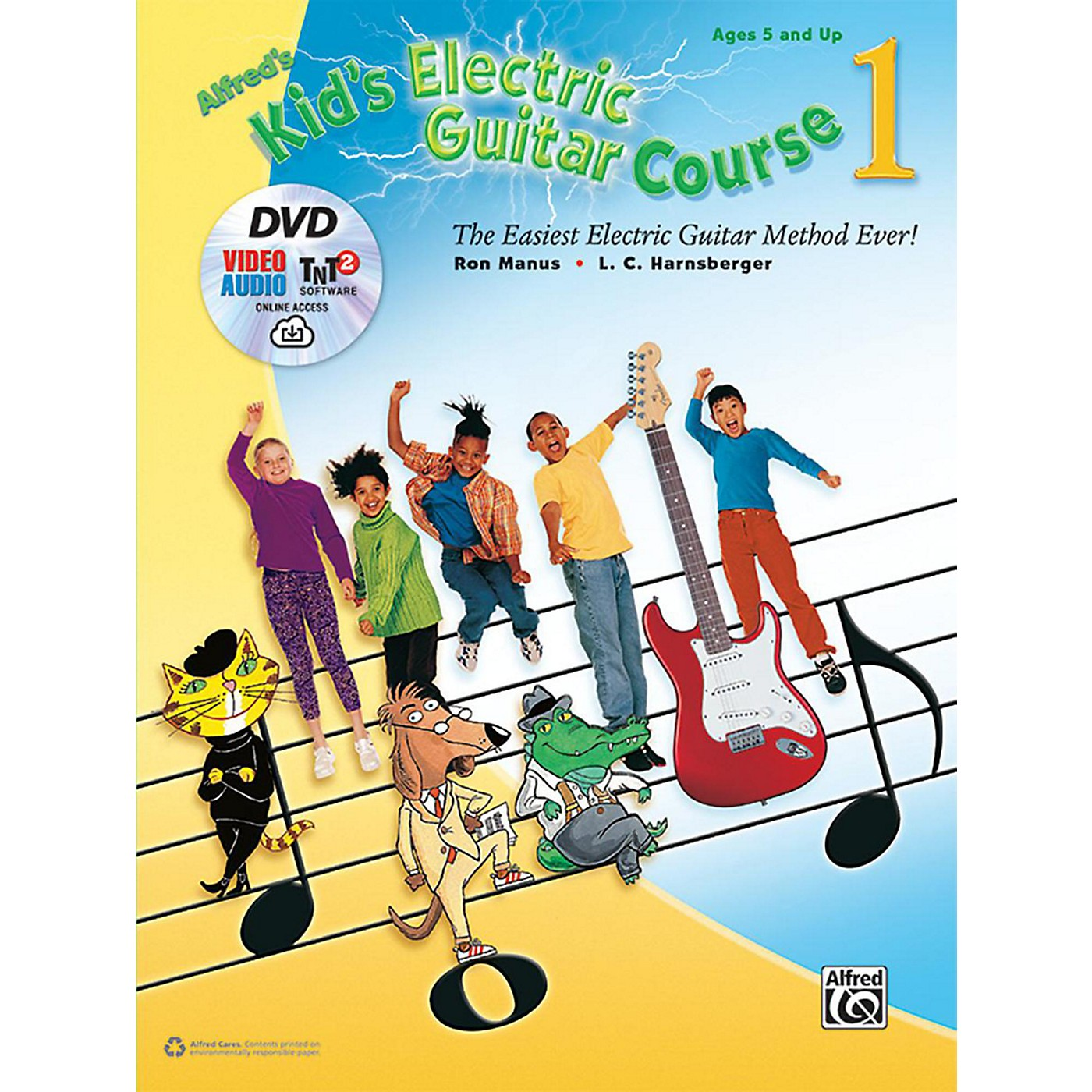 Alfred Kid's Electric Guitar Course 1 (Book/DVD/Online Streaming) thumbnail