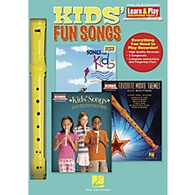 Hal Leonard Kids' Fun Songs Learn & Play 3-Book & Recorder Pack
