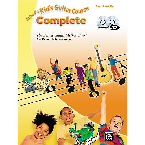 Alfred Kid's Guitar Course Complete (Book/CD) thumbnail