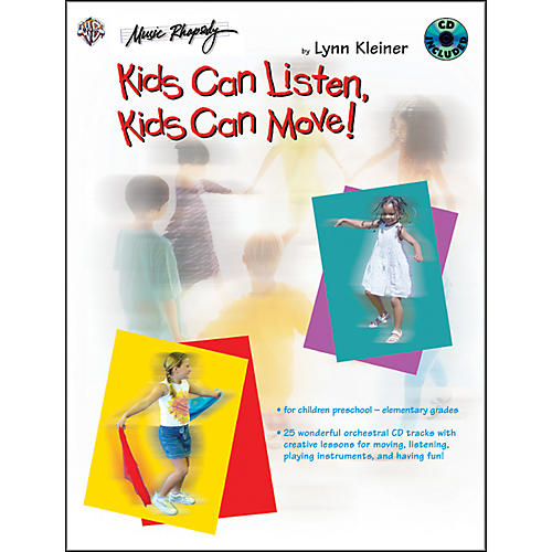 Alfred Kids Make Music Series: Kids Can Listen, Kids Can Move! Book/CD thumbnail