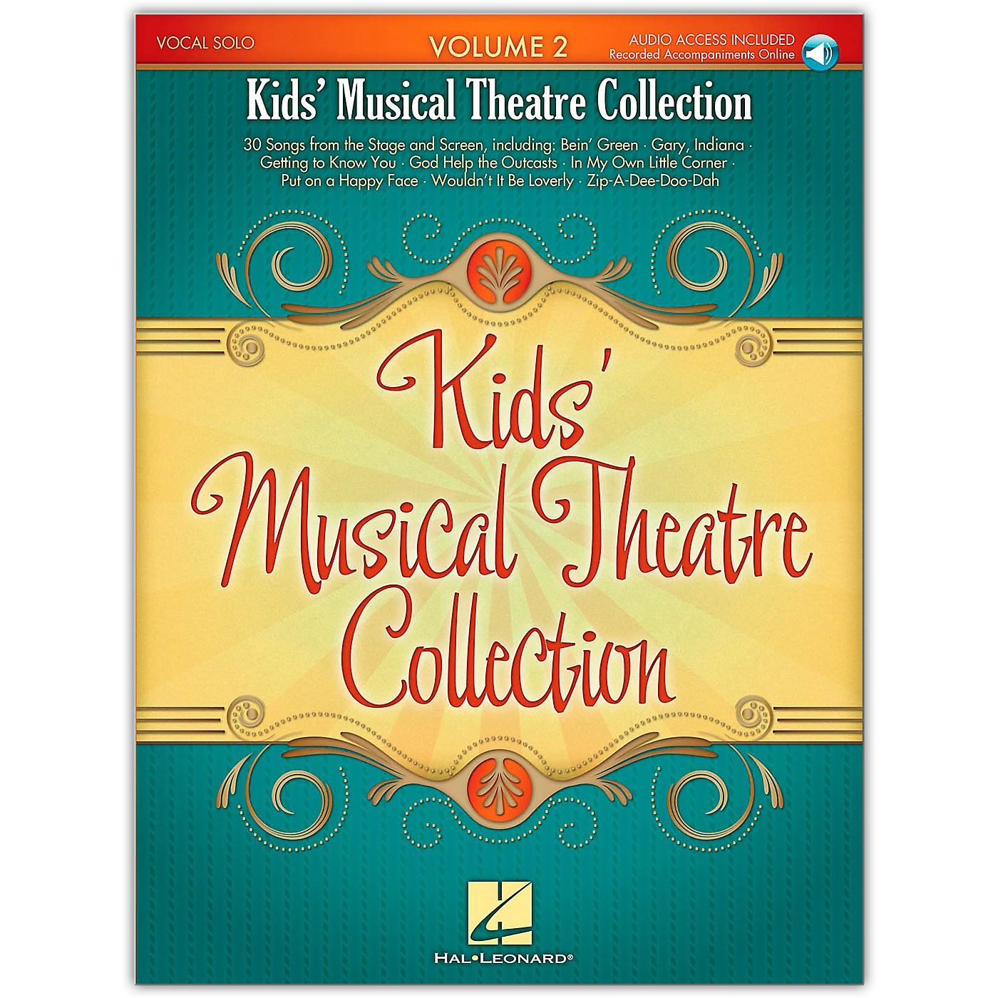 Hal Leonard Kid's Musical Theatre Collection Volume 2 Book/Online Audio thumbnail