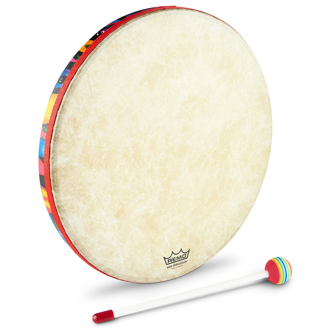 Remo Kids Percussion Hand Drums - Rainforest thumbnail