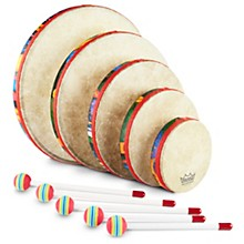 Remo Kid's Percussion Rain Forest Hand Drum Set