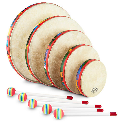 Remo Kid's Percussion Rain Forest Hand Drum Set thumbnail
