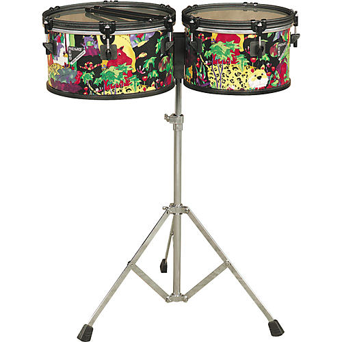 Remo Kid's Percussion Rain Forest Timbales-thumbnail