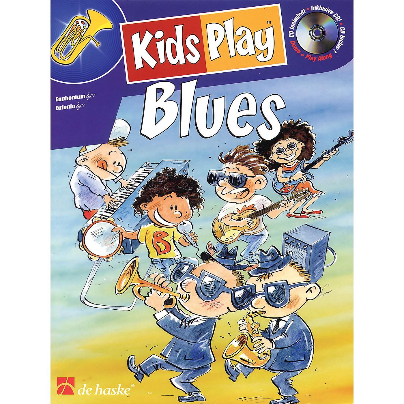 De Haske Music Kids Play Blues (Euphonium) De Haske Play-Along Book Series Written by Klaas de Jong thumbnail