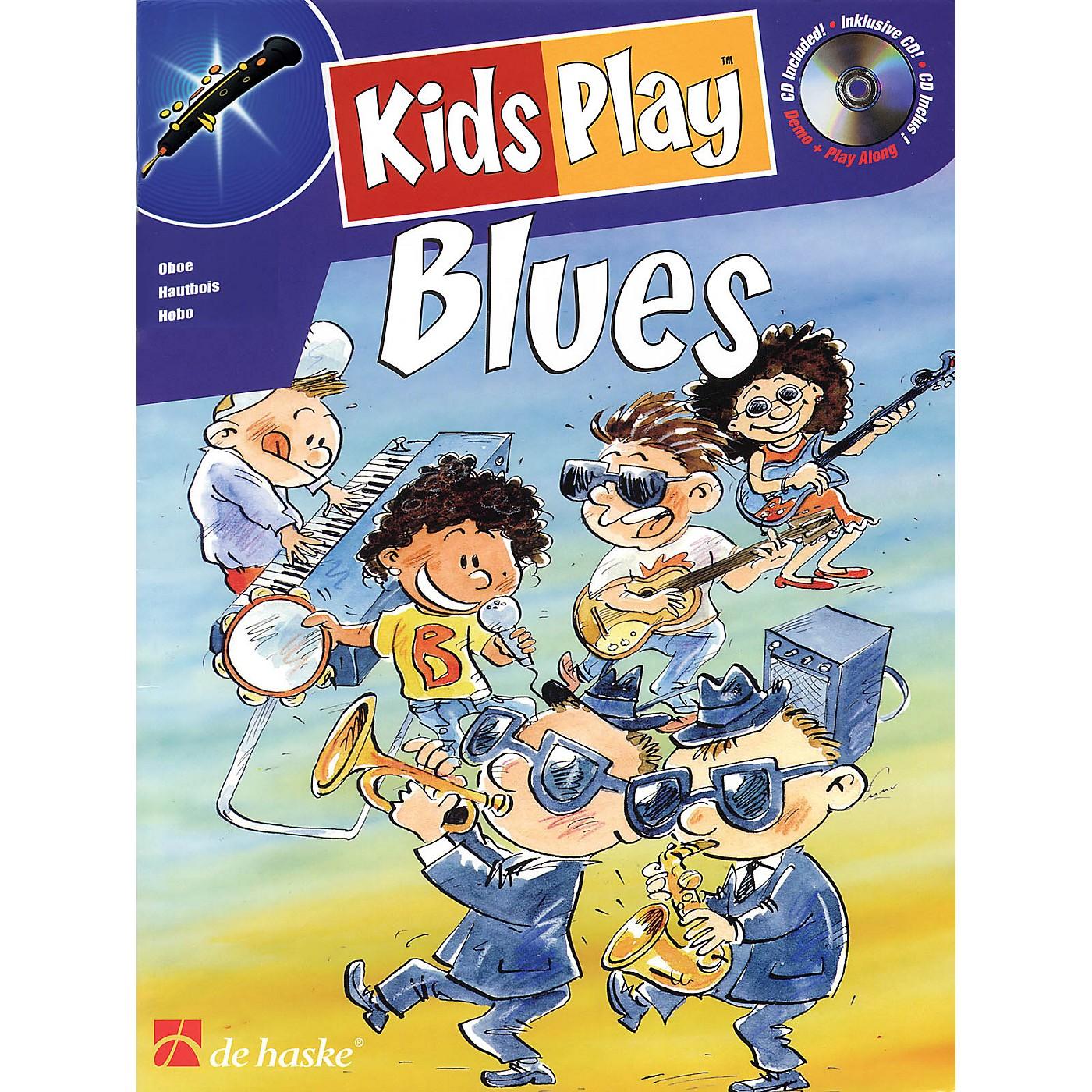 De Haske Music Kids Play Blues (Oboe) De Haske Play-Along Book Series Written by Klaas de Jong thumbnail