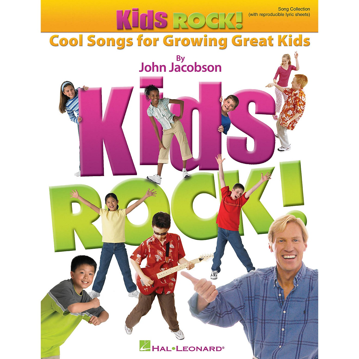 Hal Leonard Kids Rock! - Cool Songs for Growing Great Kids ShowTrax CD Composed by John Jacobson thumbnail