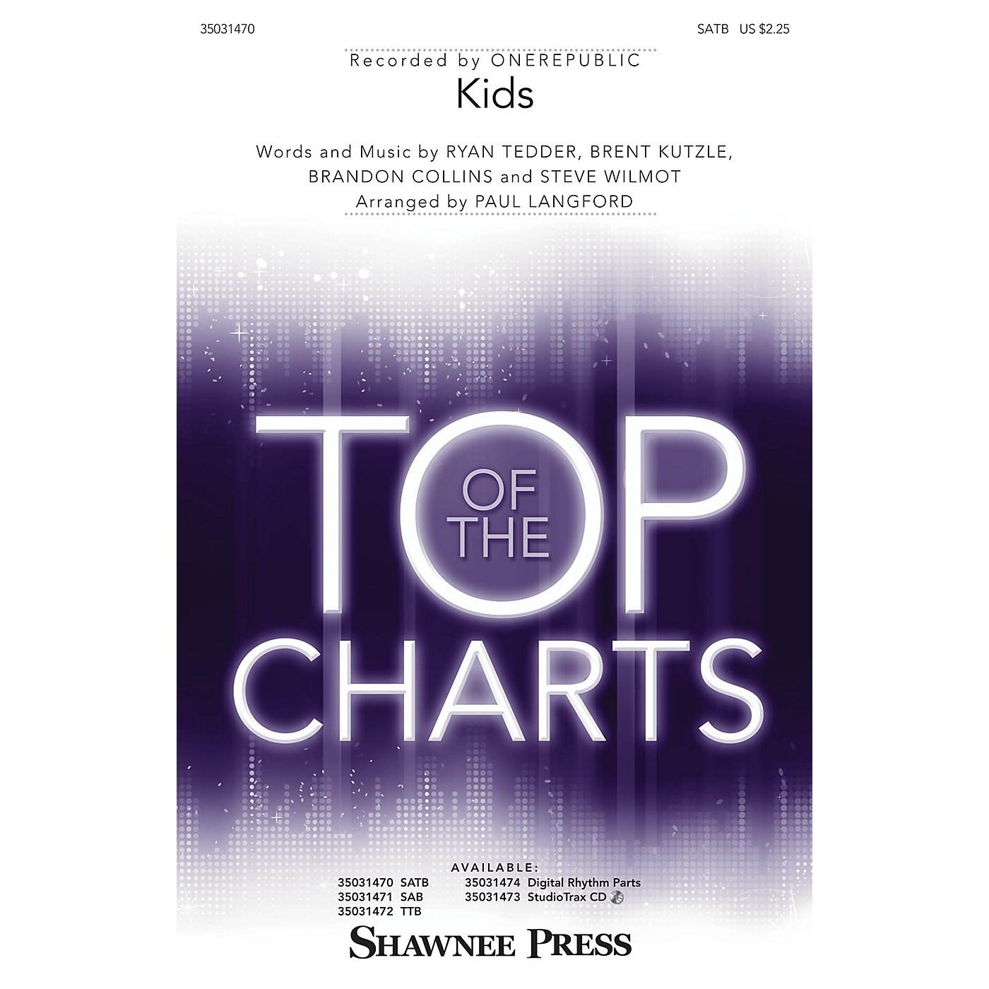 Shawnee Press Kids SATB by One Republic arranged by Paul Langford thumbnail