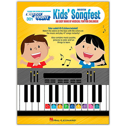 Hal Leonard Kid's Songfest - 2nd Edition E-Z Play Today Volume 301 thumbnail