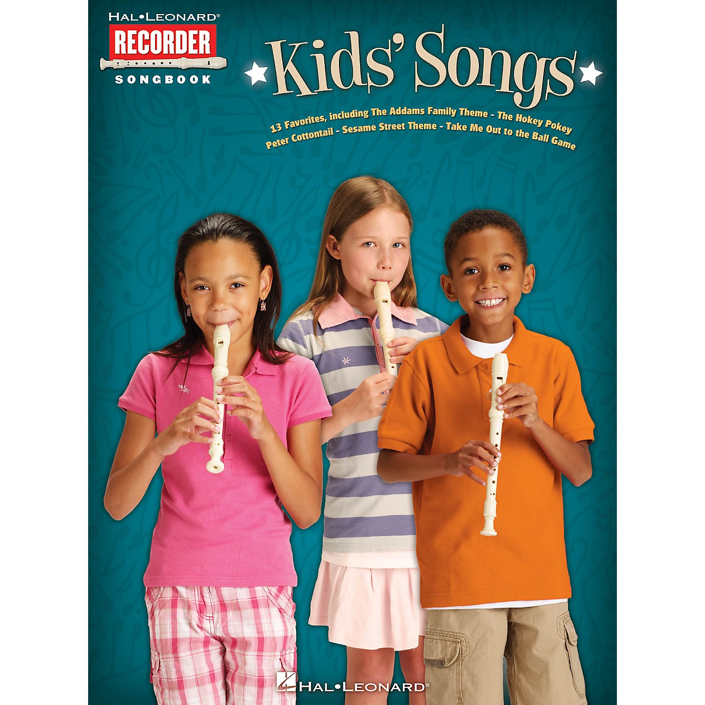 Hal Leonard Kids' Songs Recorder Series Softcover thumbnail