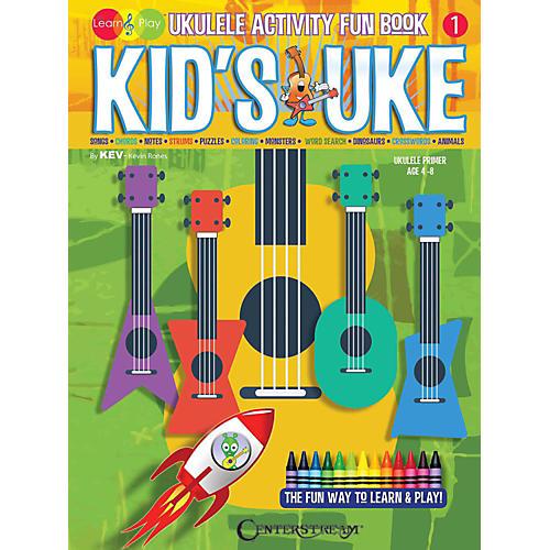 Centerstream Publishing Kid's Uke - Ukulele Activity Fun Book thumbnail