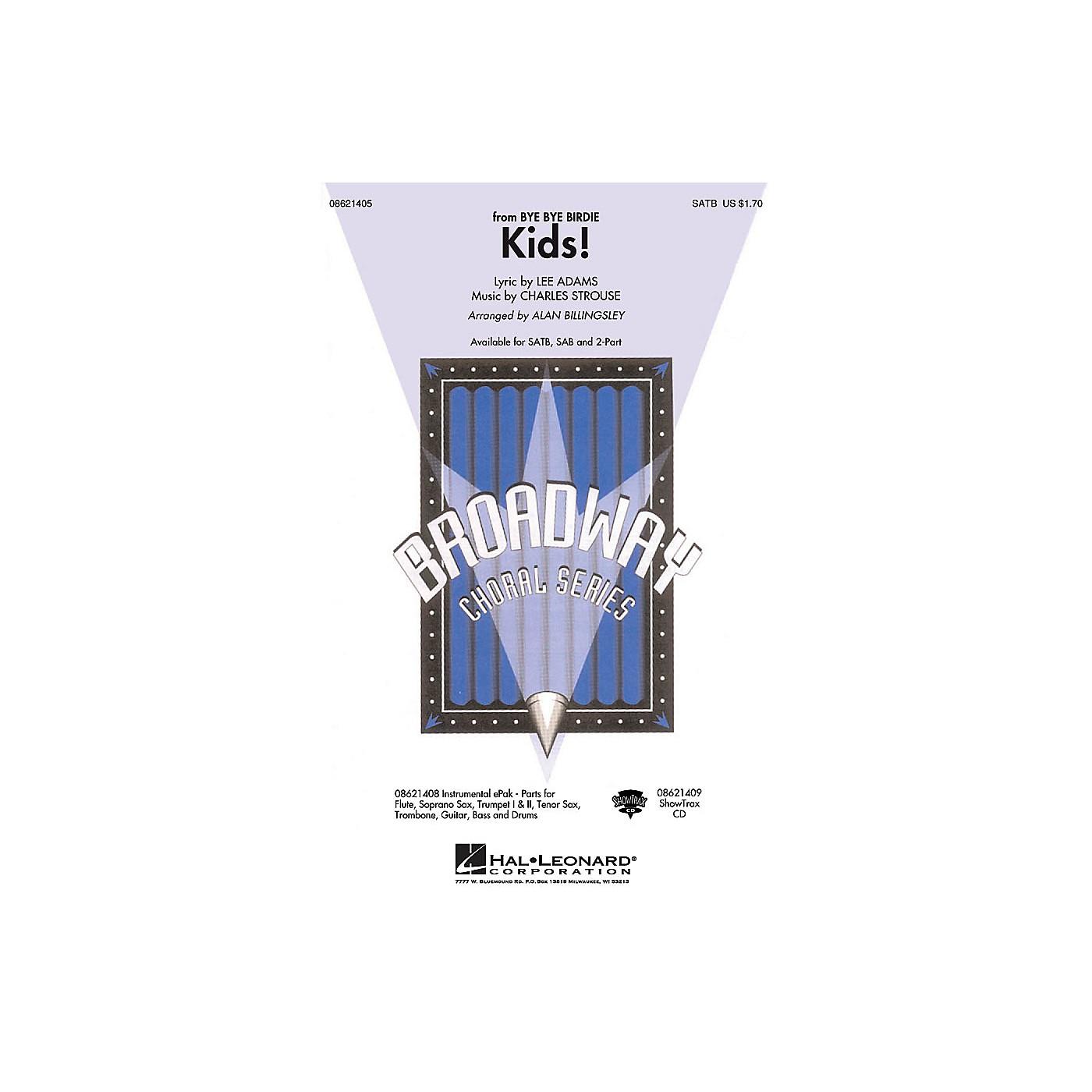 Hal Leonard Kids! (from Bye Bye Birdie) ShowTrax CD Arranged by Alan Billingsley thumbnail