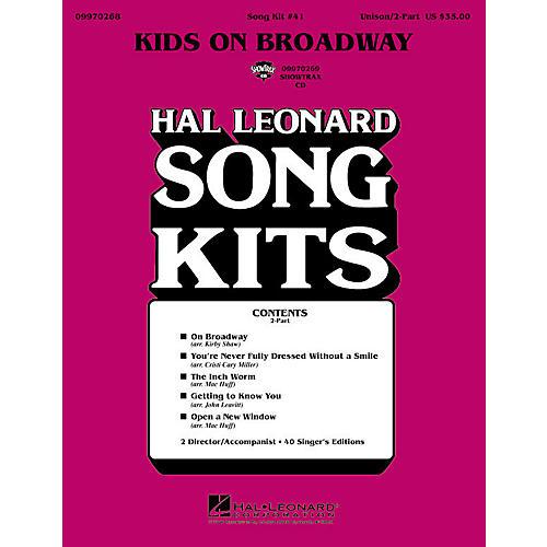 Hal Leonard Kids on Broadway (Song Kit #41) (2-Part Song Kit) 2-Part Arranged by John Leavitt thumbnail