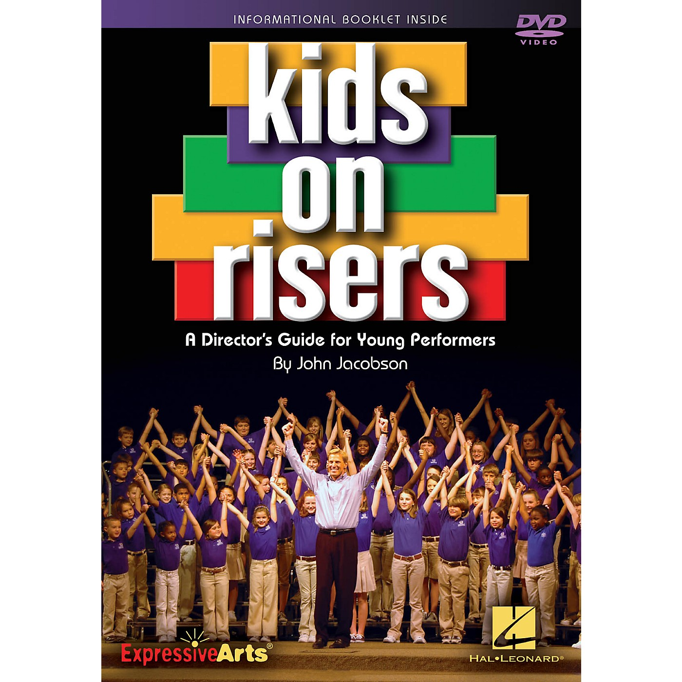Hal Leonard Kids on Risers (A Director's Guide for Young Performers) DVD with enclosed booklet by John Jacobson thumbnail