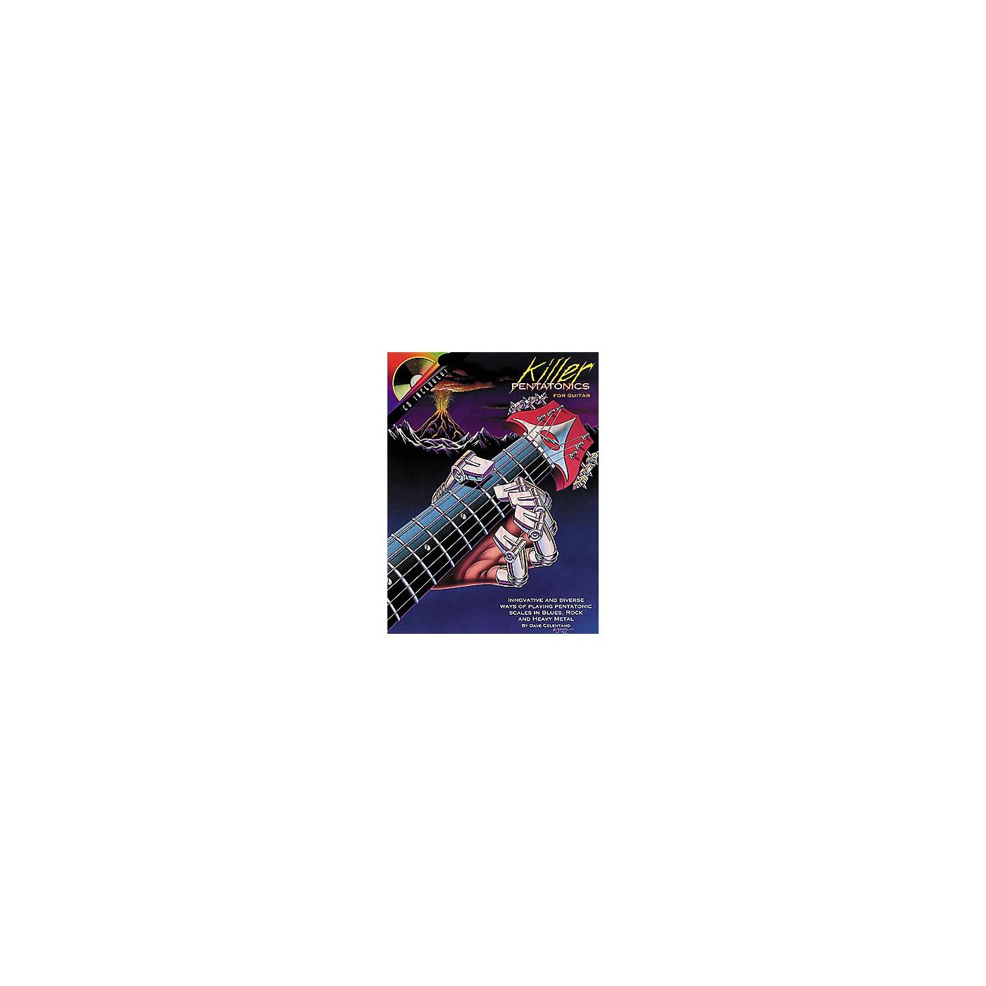 Centerstream Publishing Killer Pentatonics for Guitar (Book/CD) thumbnail