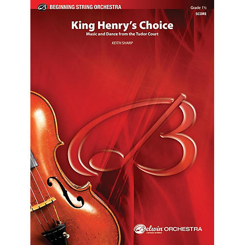 Alfred King Henry's Choice String Orchestra Grade 1.5 thumbnail