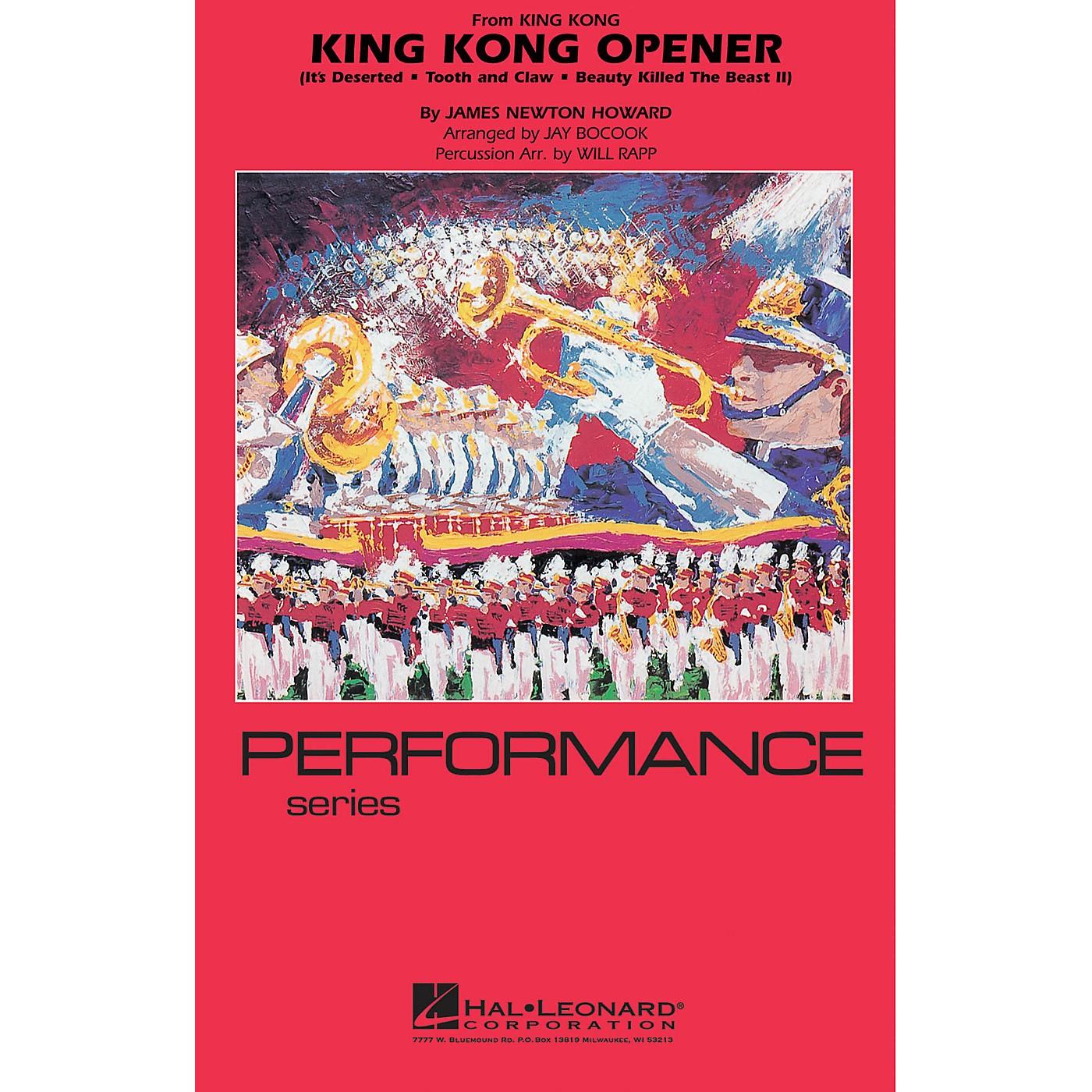 Hal Leonard King Kong Opener Marching Band Level 4 Arranged by Jay Bocook thumbnail