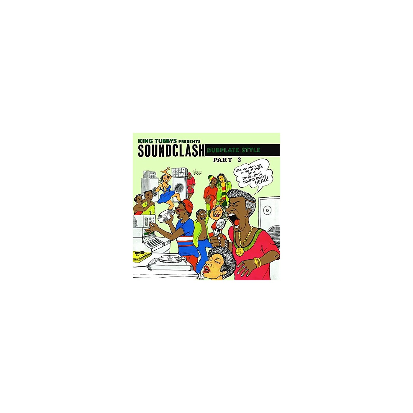 Alliance King Tubby - King Tubbys Presents: Soundclash Dubplate Style Part 2 thumbnail