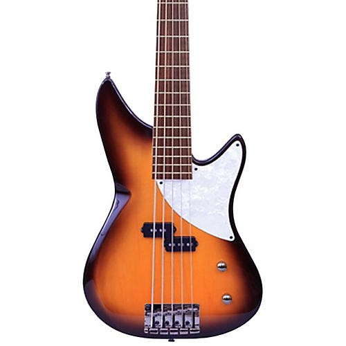 MTD Kingston CRB 5-String Maple Fingerboard Electric Bass Guitar thumbnail