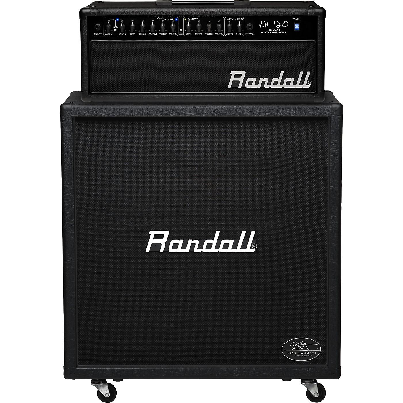 Randall Kirk Hammett Signature Series KH120RHS 120W 4x12 Guitar Half Stack thumbnail