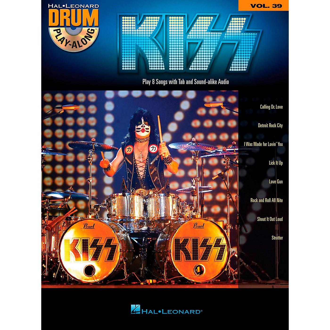 Hal Leonard Kiss - Drum Play-Along Volume 39 (Book/CD) thumbnail