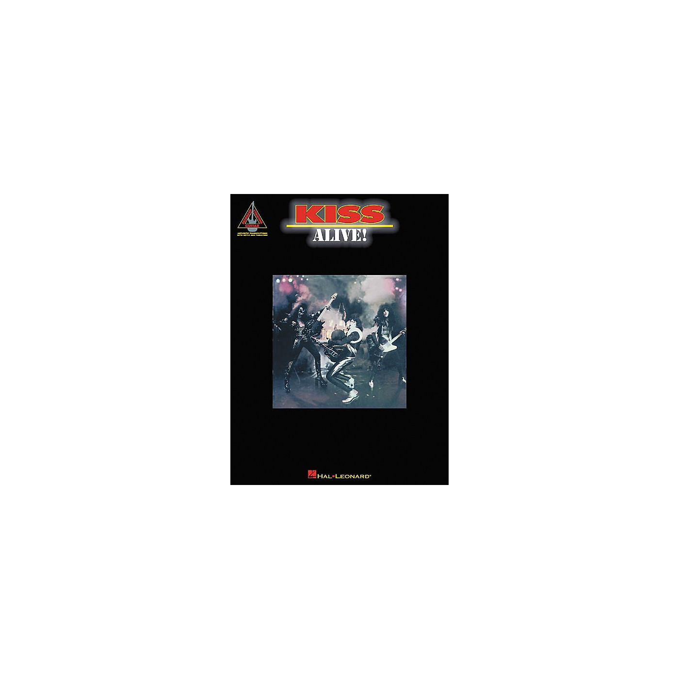 Hal Leonard Kiss Alive! Guitar Tab Songbook thumbnail