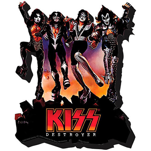 Hal Leonard Kiss Destroyer  Chunky Magnet thumbnail