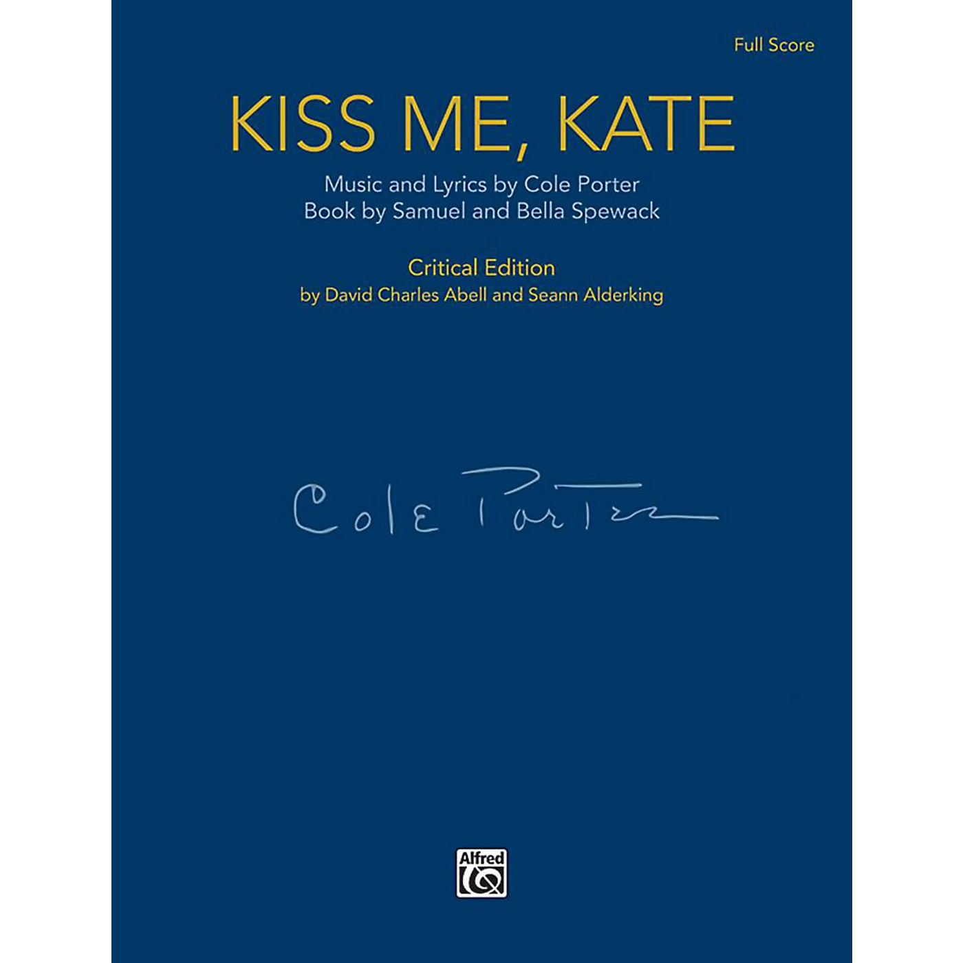Alfred Kiss Me, Kate - Full Orchestral Score (Case Bound) thumbnail