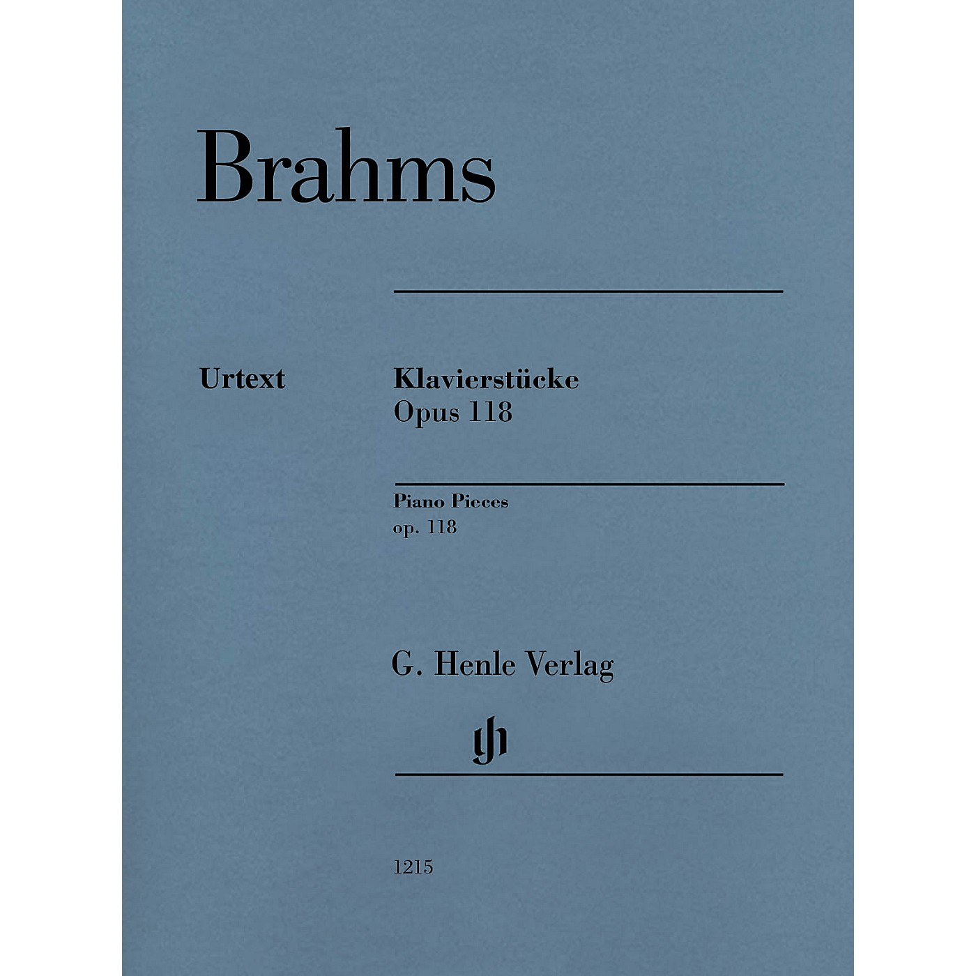 G. Henle Verlag Klavierstücke, Op. 118 [Piano Pieces] Henle Music Folios Series Softcover thumbnail