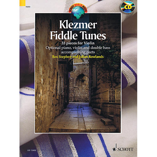 Schott Klezmer Fiddle Tunes String Solo Series Softcover with CD thumbnail