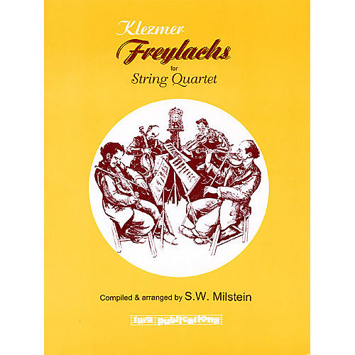 Tara Publications Klezmer Freylachs for String Quartet Tara Books Series Arranged by S.W. Milstein thumbnail