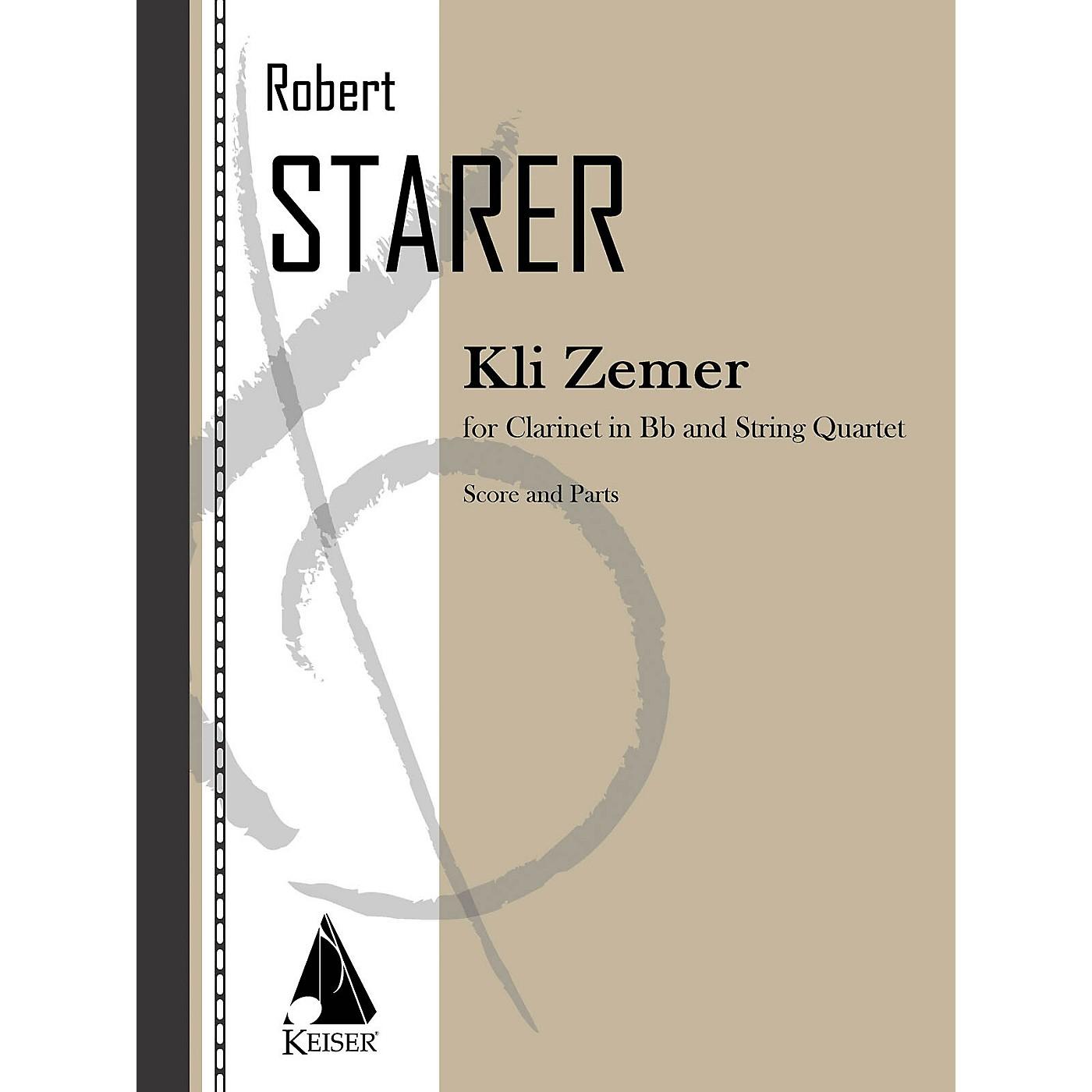 Lauren Keiser Music Publishing Kli Zemer (Concerto for Clarinet) LKM Music Series thumbnail