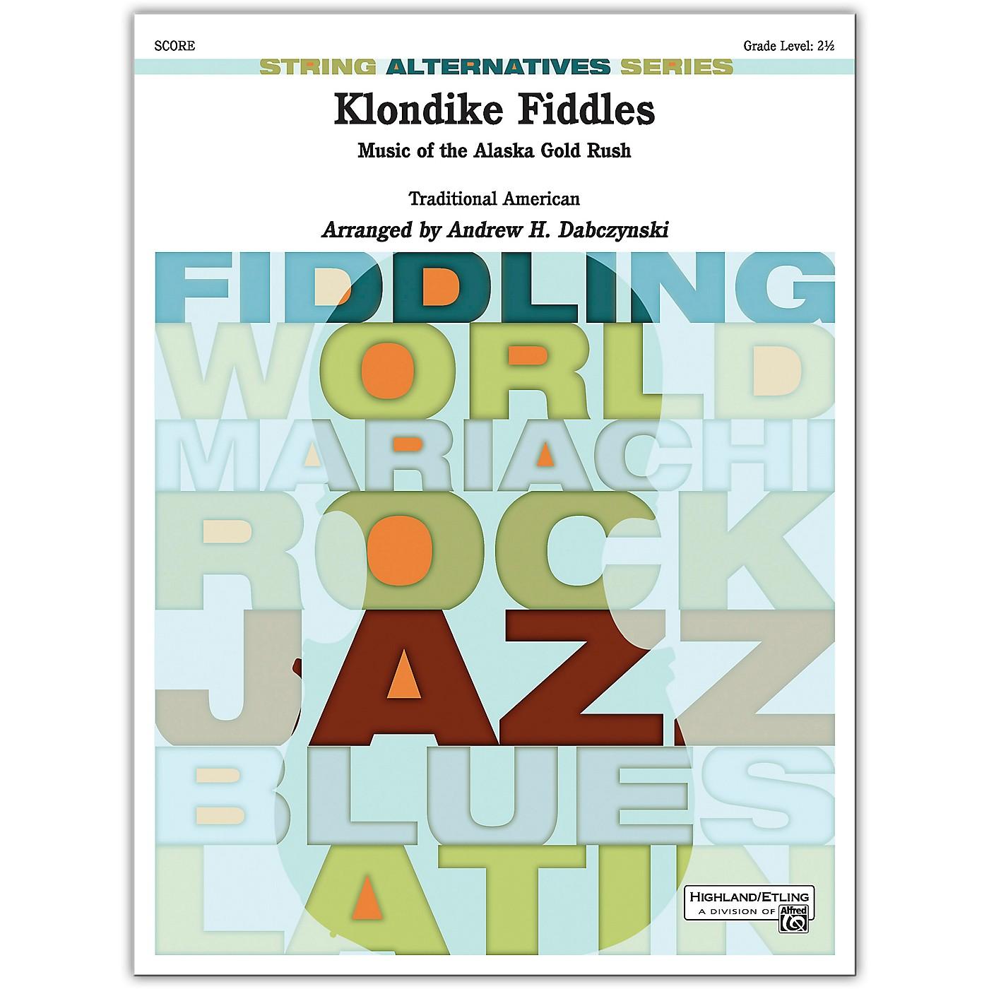 Alfred Klondike Fiddles Conductor Score 2.5 thumbnail