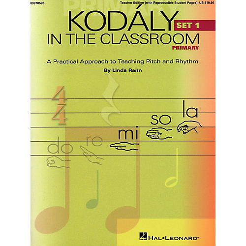 Hal Leonard Kodaly in the Classroom: A Practical Approach to Pitch and Rhythm thumbnail