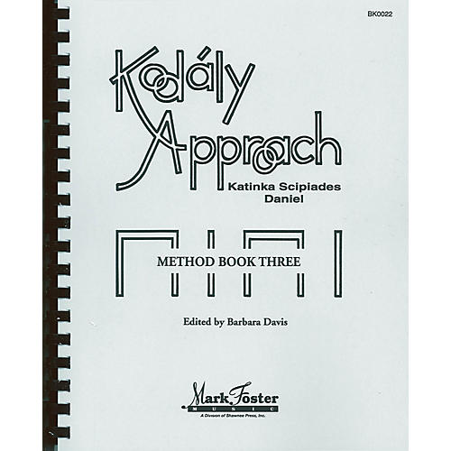 Shawnee Press Kodály Approach (Method Book Three - Textbook) Book thumbnail
