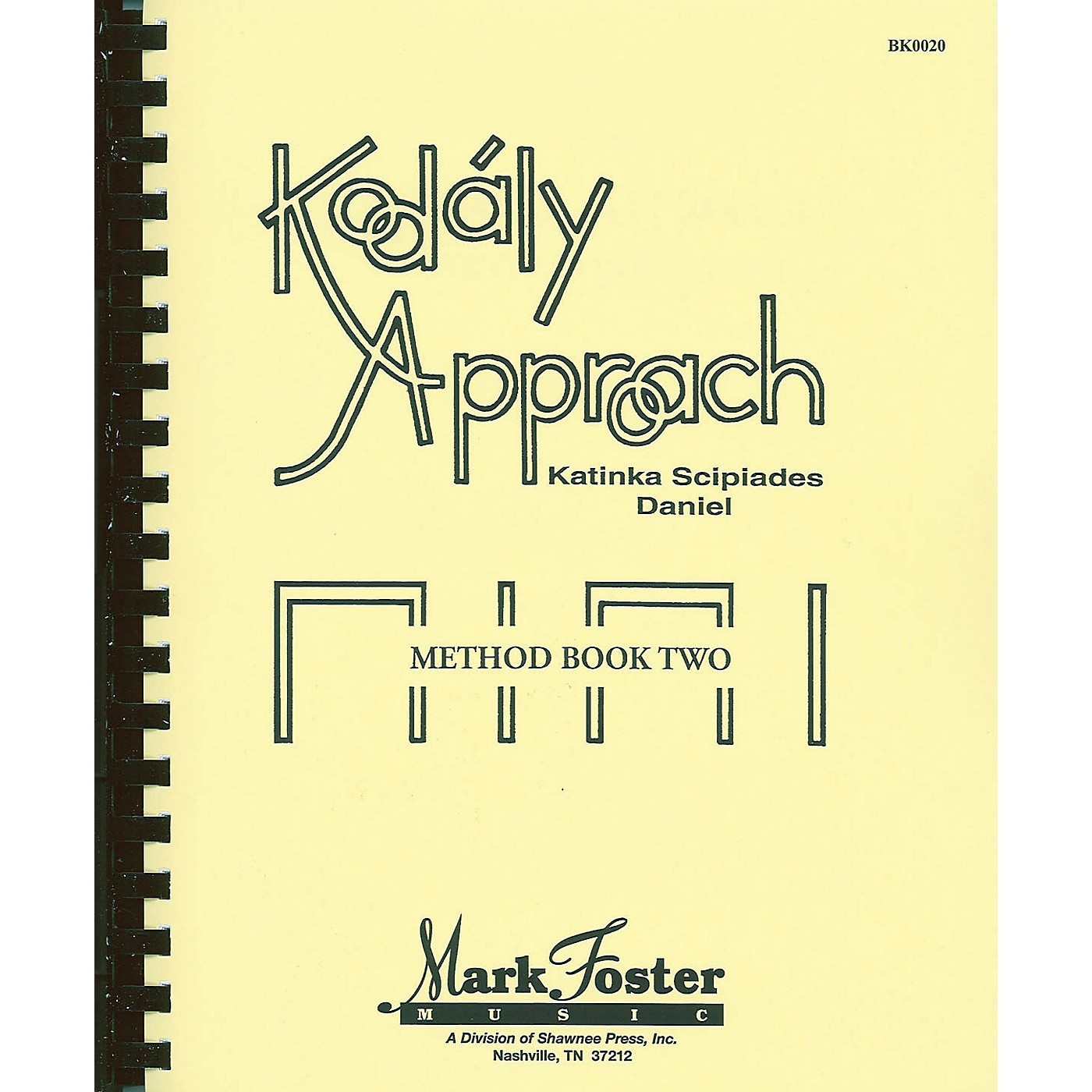 Shawnee Press Kodály Approach (Method Book Two - Textbook) Book thumbnail