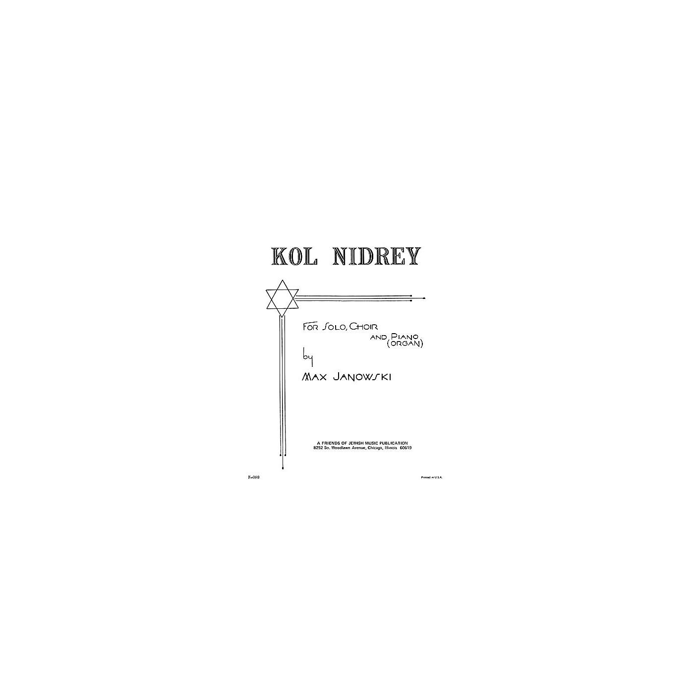 Transcontinental Music Kol Nidrey SATB arranged by Samuel Adler thumbnail
