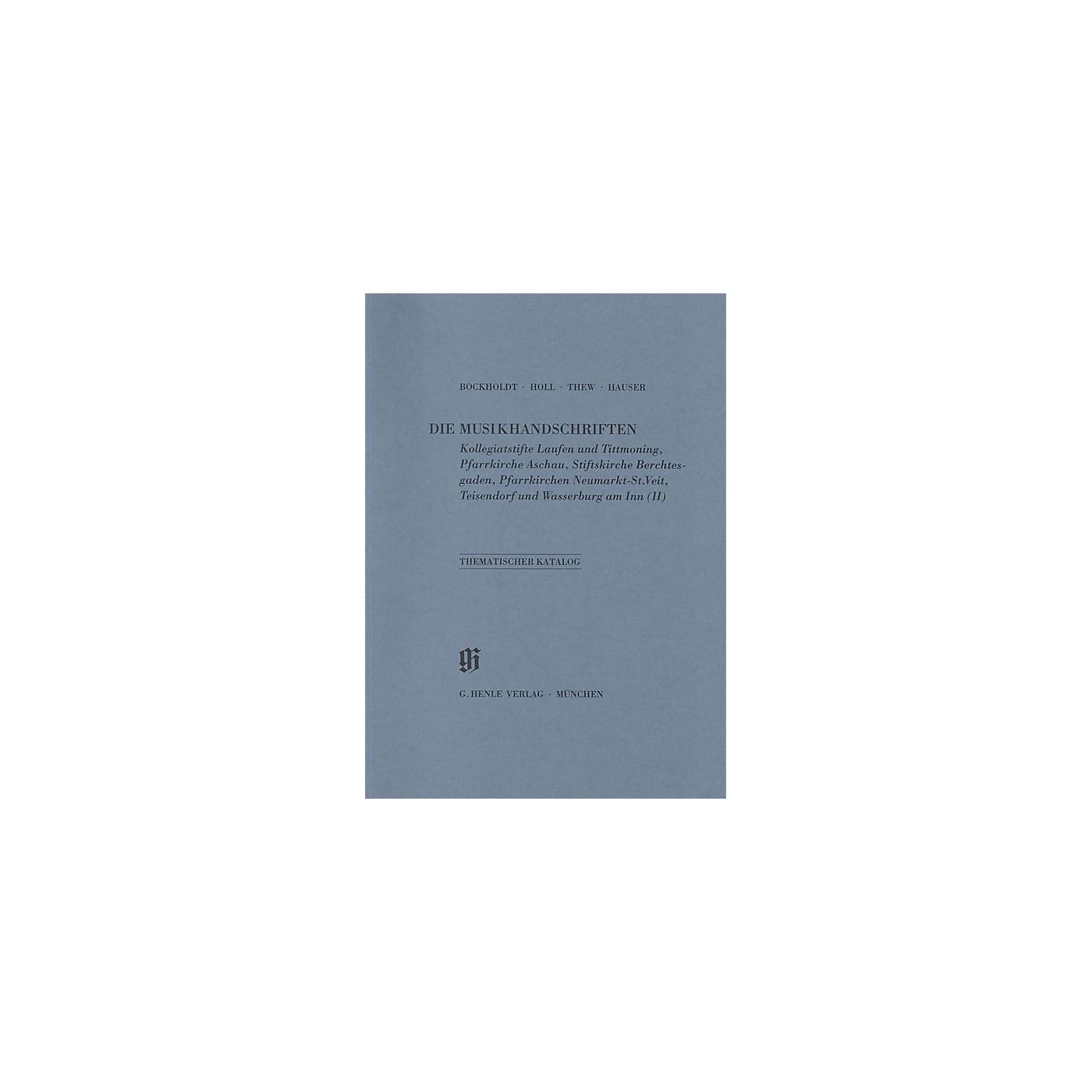 G. Henle Verlag Kollegiatstifte Laufen und Tittmoning Aschau Berchtesgaden Neumarkt Teisendorf und Wasserburg am Inn Henle Books thumbnail