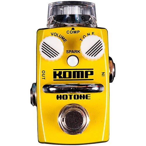 Hotone Effects Komp Opto Compressor Skyline Series Guitar Effects Pedal thumbnail