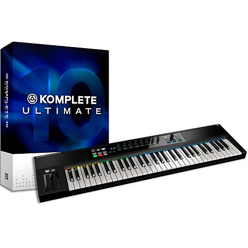 Native Instruments Komplete 10 Ultimate And Kontrol S61 Keyboard Bundle thumbnail