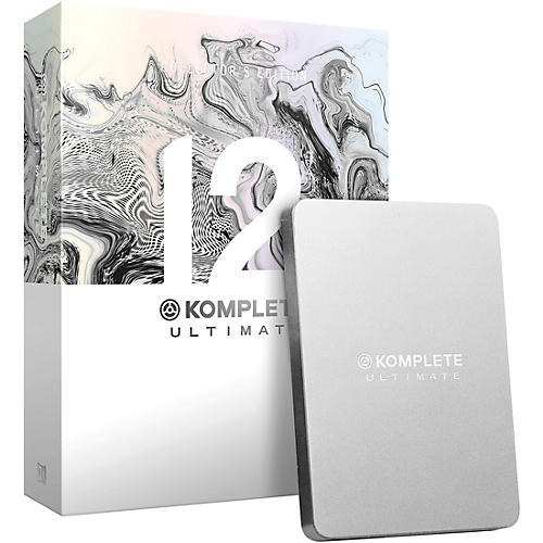 Native Instruments Komplete 12 Ultimate Collectors Edition Upgrade from Ultimate 8-12 thumbnail