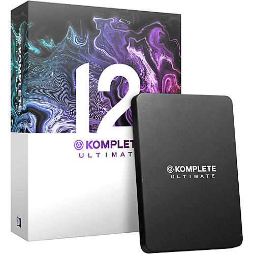 Native Instruments Komplete 12 Ultimate Education 5-Pack thumbnail