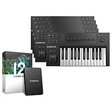 Native Instruments Komplete Kontrol A25 with Komplete 12 Educational 5-Pack