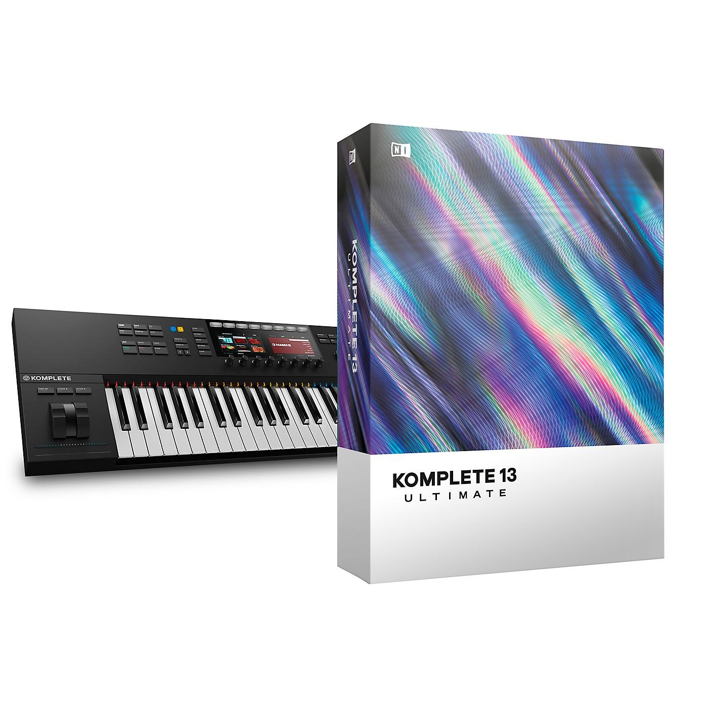 Native Instruments Komplete Kontrol S49 MK2 with Komplete 13 Ultimate thumbnail