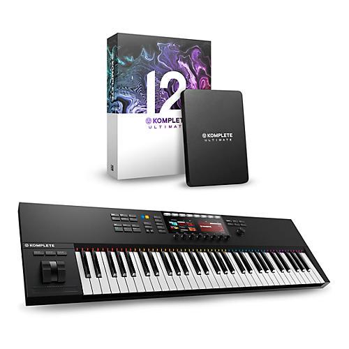 Native Instruments Komplete Kontrol S61 MK2 with Komplete 12 Ultimate thumbnail