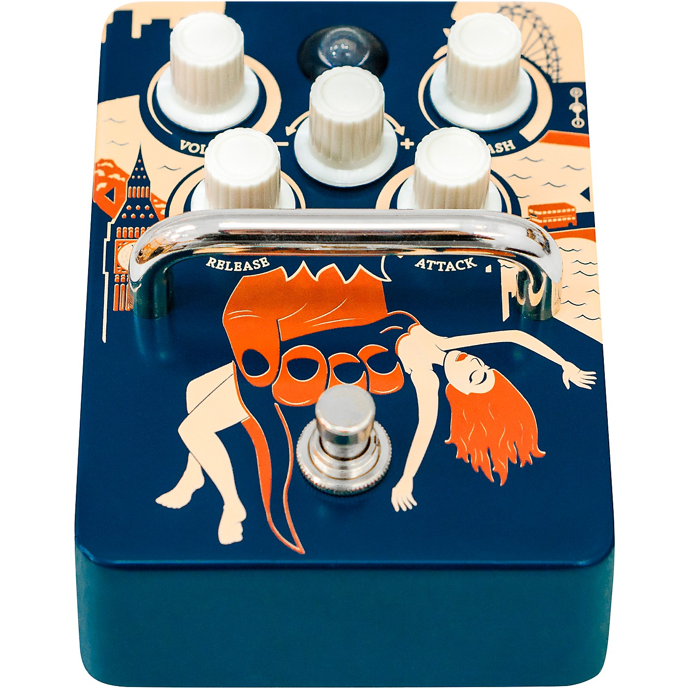 Orange Amplifiers Kongpressor Analog Compression Effects Pedal thumbnail